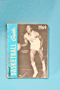 1969 OFFICIAL COLLEGIATE BASKETBALL GUIDE - JIM McMILLIAN - COLUMBIA COVER