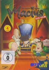 Der kleine KÖNIG MACIUS + DVD + Der Film + Kinder + Zeichentrick + mit Krone NEU