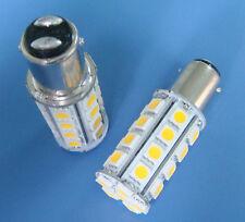 1x BA15D 1142 Warm White LED bulb Boat lights 30-5050SMD DC12V 370LM NEW