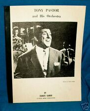 TONY PASTOR AND HIS ORCHESTRA  DISCOGRAPHY Garrod