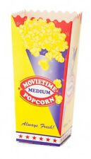 100 Medium Cinema Popcorn Cups, Movie style popcorn at your house!