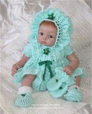 """Frandor Formats Crochet pattern Baby/Reborn """"Ellie"""" CRO112 Frandor Formats"""