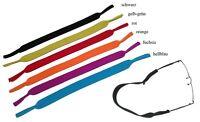 NEU - 2 Stück NEOPREN Sportband / Brillenband / Brillenkordel in 6 Farben | TOP