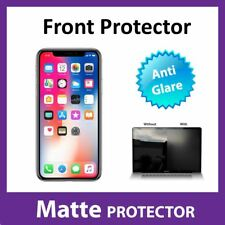 Apple iPhone X MATTE Anti Glare Screen Protector Invisible Military Shield