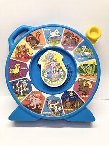 Vtg 1989 Mattel See'N Say The Farmer Says Animal Sounds 80s Preschool WORKS
