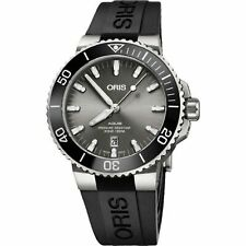 Oris 01 733 7730 7153-07 4 24 64TEB Men's Aquis Grey Automatic Watch