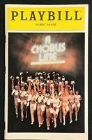 BROADWAY PLAYBILL - December 1981 - A CHORUS LINE   b4
