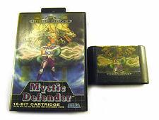 MYSTIC DEFENDER SEGA MEGA DRIVE GAME, BOX + CARTRIDGE, 1990, USED WORKING, JAPAN