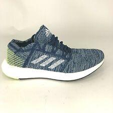 New Adidas Mens Size 10 Pureboost Go B37804 Blue Green Running Shoes