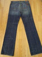 Men's SEVEN 7 FOR ALL MANKIND Jeans STANDARD Button Fly Size 31 X 34