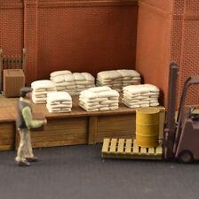 Stacked Bags, Flour, Seed, Cement #O008 O & 1/48 6pcs Produits MP diorama sac