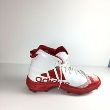Adidas  Freak X Carbon High Cleats Men's White/Red Used Size 14