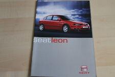 87766) Seat Leon - Österreich - Prospekt 2001