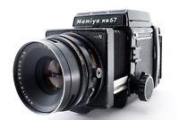 """EXC +4"" Mamiya RB67 Pro S + Sekor C 127mm f3.8 Lens + 120 Film Back Japan 7161"