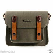Herringbone Camera Shoulder Bag Papas Pocket Mini Olive For Mirrorless Camera