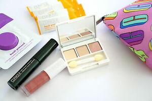 CLINIQUE Brightening l Mascara l Eye Shadow : daybreak l Lip Gloss : Adore U SET