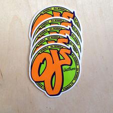 OJ wheels vinyl sticker skateboard urethane decal bumper Santa Cruz NHS