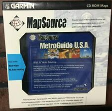 Garmin MapSource MetroGuide U.S.A. Street Map CD-ROM (Windows)