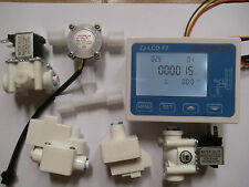 RO Pure Water Filter Controller Display+Solenoid Valve+Switch+TDS+Flow Sensor