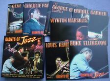 GIANTS OF JAZZ 10 CD Charlie Parker Django Reinhardt Wynton Marsalis Stan Getz