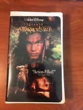 Walt Disney VHS Tape:  Squanto: A Warrior's Tale