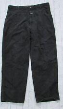 Vintage MARITHE & FRANCOIS GIRBAUD Black Pants Size 42M