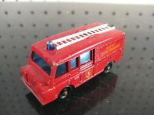 #57 Kent Fire Brigade Truck Lesney Matchbox Die-Cast Land Rover Fire Engine 1/64