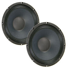 Pair Eminence Beta-10CBMRA 10 inch Closed Sealed Back Midrange 8ohm 400W Speaker