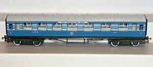 Hornby R422 Blue Stanier Coronation Scot Composite Corridor Coach 1070 VNMNB
