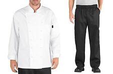 Chef Code Executive Chef Uniform Set Chef Coat And Cargo Pants Cc103 202