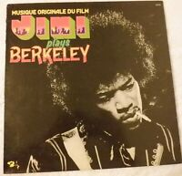 "MUSIQUE ORIGINALE DU FILM: JIMI (HENDRIX) PLAYS BERKELEY 1975  IMPORT 12"" LP VG+"