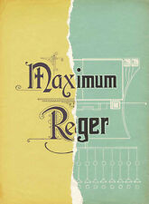 Maximum Reger: A 6-DVD Documentary of Max Reger and His Music in All Genres