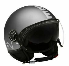 JET HELMET MOMO DESIGN FIGHTER EVO JOKER MATT BLACK - DARK GRAY SIZE L