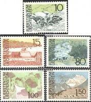 Liechtenstein 573-577 (kompl.Ausg.) gestempelt 1972 Landschaften