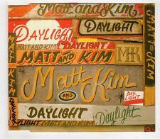 (GW506) Matt And Kim, Daylight - 2009 DJ CD