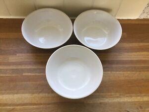 Denby - Merlot - Cereal Bowls x3.