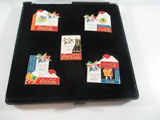 Coca-Cola Nagano Japan Olympic 5 Pin Set 1998 Winter Olympics