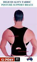 DELUXE Posture Corrector Shoulder Back Waist Support Belt Vest Brace UNISEX