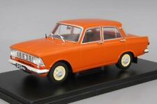 Scale car 1:24, Moskvich-412 red