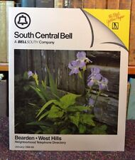 South Central Bell Telephone Directory Bearden West Hills Knoxville TN 1988-89