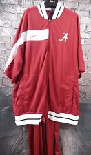Nike Team Alabama Crimson Tide Basketball Pants and Top Warm Up Outfit USA Made
