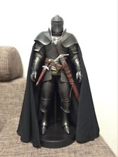 """1:6 Black Ancient medieval Paladin Royal Knight cloak Coat For 12"""" Figure Body"""
