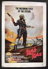 Mad Max Original Movie Poster 1979 Mel Gibson Road Warrior  *Hollywood Posters*