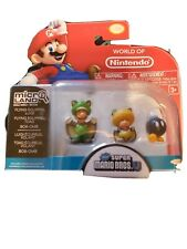 Flying Squirrel Luigi, Flying Squirrel, Toad! Mini Figures 3-Pack; Ultra Rare!