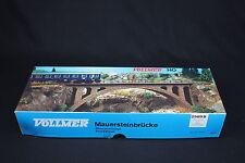 W280 VOLLMER Train Ho Maquette 2509 B Pont arche  stone arch bridge 31 cm