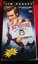 "Ace Ventura ""Pet Detective"" Jim Carrey VHS Tape French"