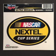 "Nascar Nextel Cup Series Racing Car Bumper Window Sticker Decal 5.5"" x 3.75"""
