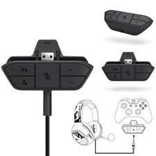 For Microsoft Xbox One Controller Stereo Headset Headphone Audio Game Adapter