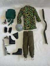 VINTAGE ACTION MAN PALITOY GERMAN PARATROOPER SOLDIER FIGURE OUTFIT SMOCK