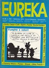 EUREKA n. 38 - EDITORIALE CORNO - GIUGNO 1970
